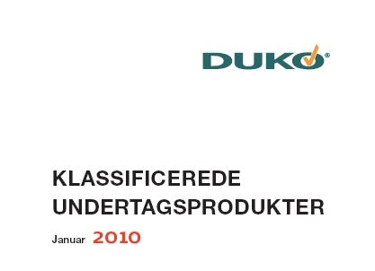 DUKO instik 2010 top