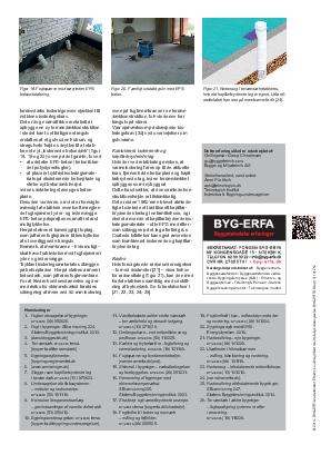 Opfugtet betonplade i terrændæk – undersøgelse og renovering | BYG-ERFA