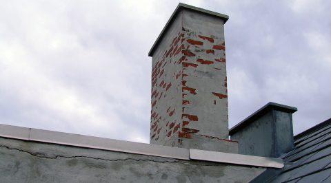 Nice Små, murede skorstene – naturgas- og oliefyringsanlæg | BYG-ERFA VQ45