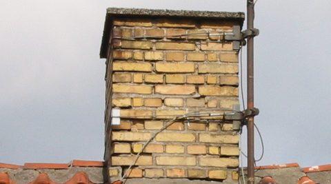 Fantastisk Små, murede skorstene – reparation og vedligehold | BYG-ERFA UC02